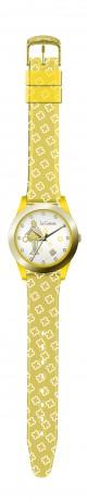 Orologio PVC Gold Giallo 05