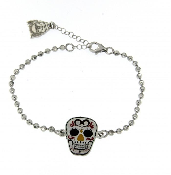 Bracciale Skull Mexican 01