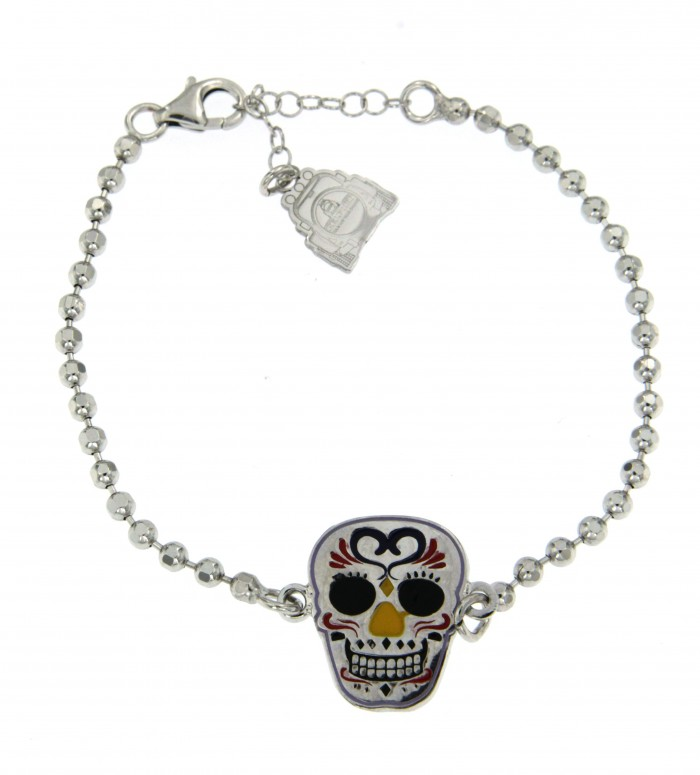 Bracciale Skull Mexican 04