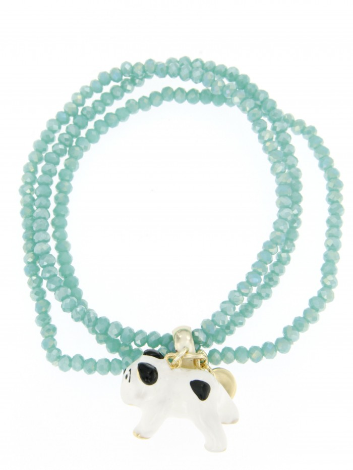 Bracciale I Love My Dog Stone 12