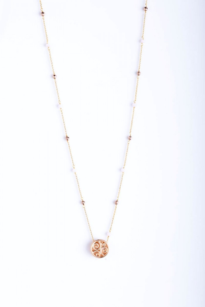 necklace pompon limited small6