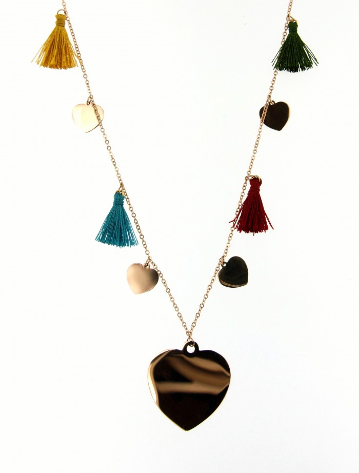 necklace heart nappine