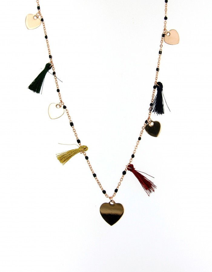 necklace heart nappine1