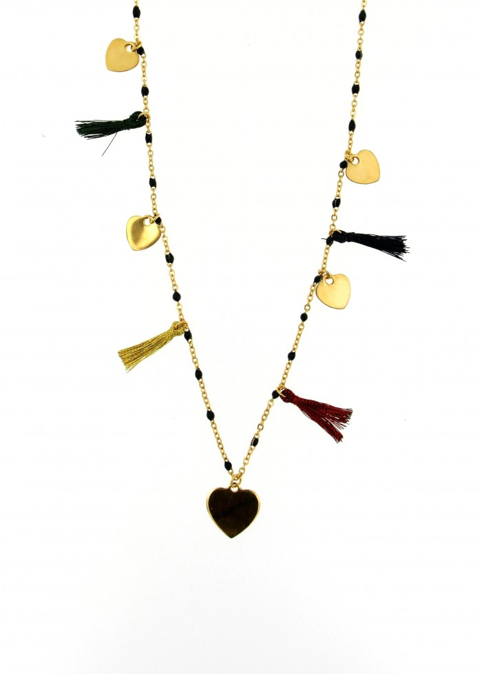 necklace heart nappine3