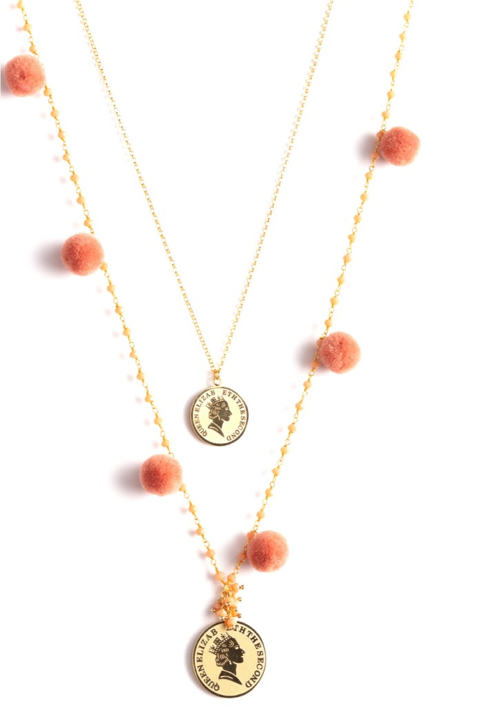 new products 60479 446c6 Collana pompon queen 2 - Le Carose official Store
