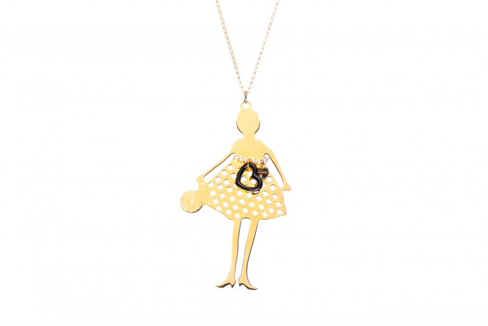 Collana Coco in love gold 03n